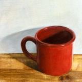 Mug on Cutting Board
